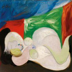 Pablo-Picasso-Femme-Nue Joan Miro Paintings, Picasso Paintings, Pablo Picasso, London Sales, Picasso Portraits, Korean Art, Magritte, Art Auction, Banksy