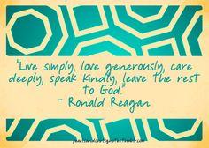love ronald reagan