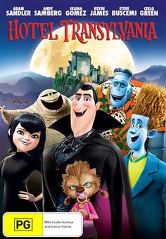 Hotel Transylvania....couldn't stay awake to watch this..... did end up watching it and loved it!!!!
