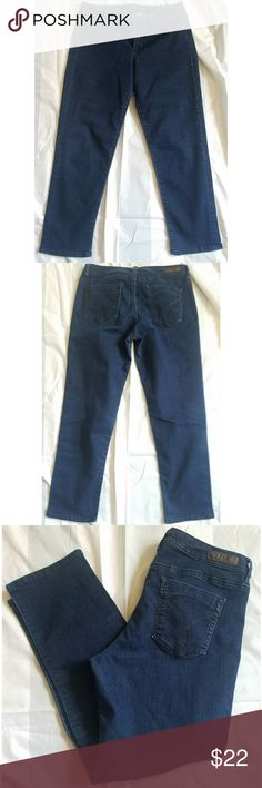 Calvin Klein capris Calvin Klein capris, tag states size 29/8, measurements are APPROXIMATE in inches: waist 14 1/2 flat, rise 9, inseam 25. Jeans are quite stretchy. *My items are NOT from a smoke free home* Calvin Klein Jeans Ankle & Cropped
