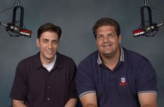Mike Greenberg reportedly leaving his longtime radio show for his own daily TV show. Mike Golic, Mike Greenberg, Dennis Jones, Mike And Mike, Lineman, Espn, Tv Shows, Polo Ralph Lauren, Guys