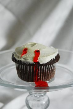 Vampire Cupcakes by SugarMamasBakeryOhio on Etsy