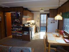 Kitchen of  Bonnie Brae Cabin