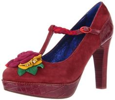 Poetic Licence Women's The One Platform Pump,Burgundy