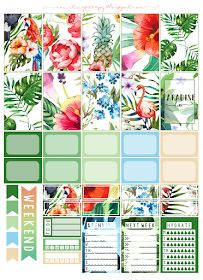 Counting Sheepy: Free Planner Printables - Paradise Kiss
