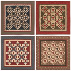 Heartspun Quilts Patterns-I like the four in one