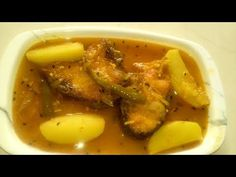 Rui Macher Jhol Recipe - Most Healthy Bengali Macher Jhol with Vegetables - YouTube