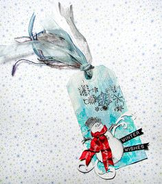 Winter Wishes Tag by Vickie from In My Head Studios