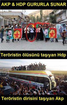 YOK ASLINDA FARKLARI! AKP&HDP   TürkMilleti MhpDiyor