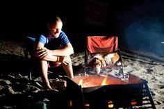 Camping with a Welsh Springer Spaniel
