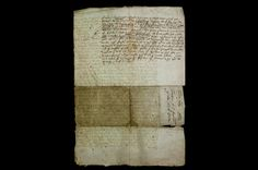 Death warrant of Mary, Queen of Scots, 1 February 1587 © Trustees of Lambeth Palace Library The original warrant disappeared in the recriminations which followed Mary's execution. This copy was delivered to Robert Beale by Henry Grey, 6th Earl of Kent, one of the two commissioners tasked with organising the execution