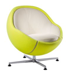 Tennis in Sporty Chair Design by Paolo Lillus