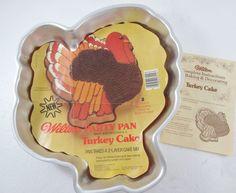 Wilton Turkey Cake Pan Instructions