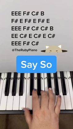 therubypiano( on TikTok: How to play Baby Shark on Piano 🎹❤️🦈 Piano Sheet Music Letters, Piano Music Notes, Easy Piano Sheet Music, Flute Sheet Music, Der Pianist, Vive Le Vent, Music Chords, Piano Tutorial, Music Mood