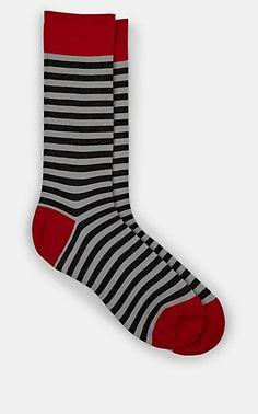 544fef9e6e8b3 Barneys New York Striped Wool-Blend Mid-Calf Socks - Socks - 505933083 Calf