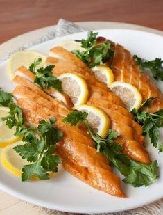 Фото к рецепту: Медово-лимонные куриные грудки