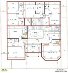 خرائط فيلا في المقدمة و شقق خلفية 2bhk House Plan, Square House Plans, 3d House Plans, Model House Plan, Simple House Plans, Home Design Floor Plans, House Layout Plans, Family House Plans, Luxury House Plans