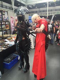 Giulietta (Alien Queen) & Connor (Dante)