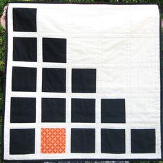 PDF PATTERN Geometric Building Blocks baby quilt by FrozenKnickers