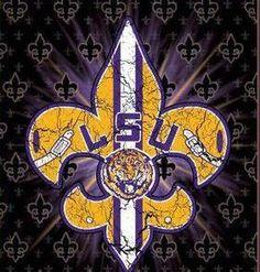 LSU football - LSU TIGERS - LSU TIGERS colors purple & gold - Louisiana State University