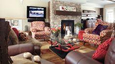 Bâtie dans une clairière cette belle maison canadienne est un cocon idéal pour faire le plein d'énergie en toute tranquillité. Decoration, Inspiration, Furniture, Home Decor, Home Ideas, Canadian House, Home Decoration, Decor, Biblical Inspiration