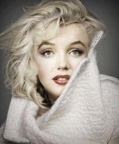 Fantasy Art Work  Marilyn Monroe by artist  Myentl