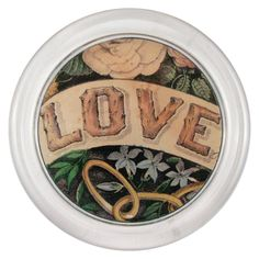John Derian Company Inc — Love Twig bottle coaster