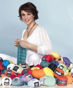 6-Time Biatholon World Champion Magdalena Neuner from Germany is also a passionate knitter.