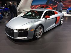 "2017 NYIAS: Audi R8 ""Audi Sport"" Edition comes to New York - http://www.quattrodaily.com/2017-nyias-audi-r8-audi-sport-edition-comes-new-york/"