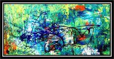 La Poétique II - Peinture ©2011 par Edyth Généreux -              edyth généreux, artiste contemporaine, art visuel, art contemporain, galerie, gallery, oeuvres d'arts, contemporary art, montreal, canada, québec, www.edythgenereux.com
