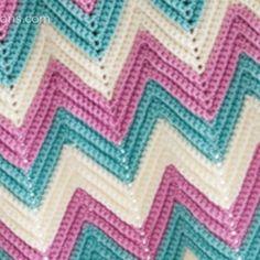Secrets Revealed: Crochet Chevron Afghan Size Changes + Video Tutorial