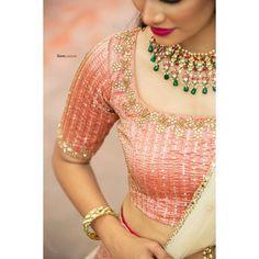 Stylish blouse designs 2021! Instagram Credits - Blouse: @anjushankarofficial Muse @luckysparkle9991 Mua - @artistrybyolivia Hair @jayashree_hairstylist Shot by @sarancapture Jewelry @vivahbridalcollections Blouse Back Neck Designs, Blouse Neck, Blouse Designs, Stylish Blouse Design, Blouses For Women, Wedding Stuff, Muse, Hair, Instagram