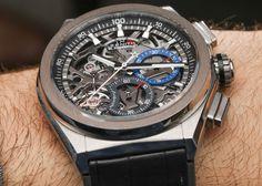 Zenith Defy El Primero 21 Watch Hands-On Hands-On