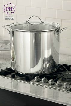 Make amazing dishes for your big Super Bowl party or a family weekend gathering with the Princess Heritage® Stainless Steel Classic 30-Qt. Stockpot & Steaming Rack ‪#‎SuperBowl‬ ‪#‎Stockpot‬