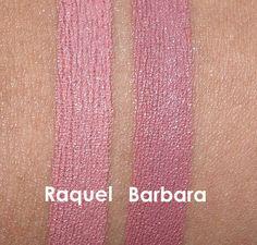NARS Raquel and Barbara swatches Makeup And Beauty Blog, Beauty Hacks, Hair Beauty, Beauty Tips, Beauty Products, Nars Audacious Lipstick, Nars Lip, Mac Lipstick Shades, Nude Lipstick