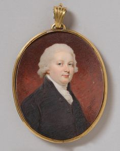 Edward Miles Portrait of a Man, c. 1800 Watercolor on ivory 2 x 2 inches x cm) Accession Number: Credit Line:Gift of W. Parsons Todd and Miss Mary J. Todd, 1938 Philadelphia Museum of Art Miss Mary, Mary J, Philadelphia Museum Of Art, Mona Lisa, British, Ivory, Portraits, Watercolor, Number