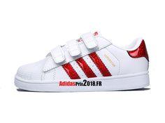 e737aaa0648 Adidas Superstar Foundation CF C PS - Chaussure Adidas Originals Prix Pour  Jeune Enfant Blanc