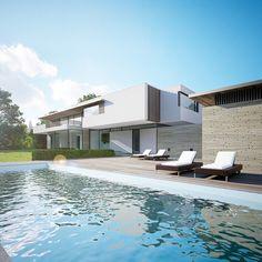 Project Lochem | Maas Architects by George Nijland, via Behance