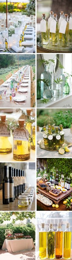 olive oil themed wedding Inspired by Olive Oil for Your Destination I Do