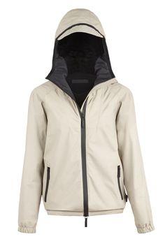 Gucci Viaggio Women's Coated Leather Hooded Jacket #gucciviaggio