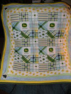 John Deere Baby Quilt