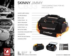 Helpful guide to the CB33 Skinny Jimmy. #lifeonlocation  #CineBags