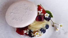 Sublime #macaron de La Ferme du Chozal à Hauteluce #france #cuisine #gastronomy #tourisme #voyage