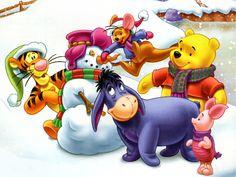 Ideas Disney Christmas Wallpaper Desktop Winnie The Pooh For 2019 Disney Winnie The Pooh, Winnie The Pooh Christmas, Winne The Pooh, Baby Disney, Pepe Le Pew, Merry Christmas, Christmas Music, Christmas Time, Christmas Movies