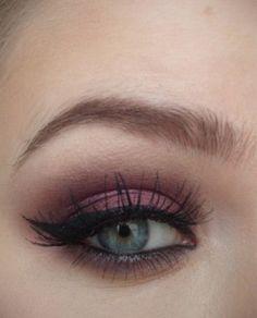 burgundy eye <3