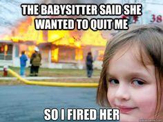 babysitter meme - Google Search