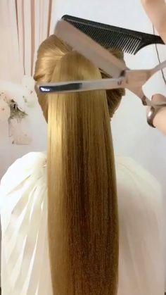 🌟Access all the Hairstyles: - Hairstyles for wedding guests - Beautiful hairstyles for school - Easy Hair Style for Long Hair - Party Hairstyles - Hairstyles tutorials for girls - Hairstyles tutorials Pretty Hairstyles, Girl Hairstyles, Braided Hairstyles, School Hairstyles, Casual Hairstyles, Hair Upstyles, Wedding Guest Hairstyles, Long Hair Video, Hair Videos