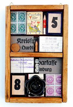 mano's welt: wunderkammer nr 24, quedlinburger sparkasse - extra für die ausstellung gefertigt