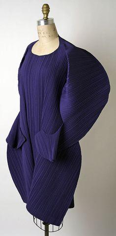 Dress Issey Miyake (Japanese, born 1938) Design House: Miyake Design Studio (Japanese) Date: spring/summer 1991 Culture: Japanese Medium: synthetic.