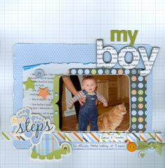My boy - Scrapbook.com